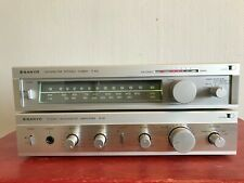 SANYO A-10 Stereo Integrated Amplifier + TUNER T-10L SYSTEM 10