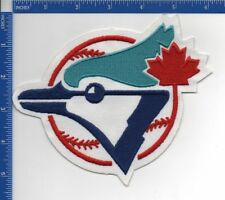 "Toronto Blue Jays patch Jay & Baseball 1977 - 1996 5 3/4"" X 6 1/4"" Authentic MLB"