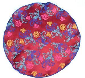 Lord R Colton Masterworks Pocket Round Positano Vivid Ruby Silk - $75 Retail New