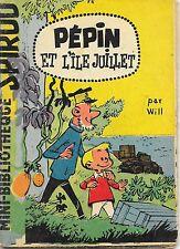 Mini-Récit Spirou N°24 - Pépin et l'île Juillet (monté) - ABE