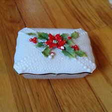 HOBNAIL Hollyware Vintage Trinket Two Piece Box
