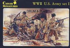 César 54-juego de la segunda guerra mundial del ejército de Estados Unidos #1 1/72 escala Segunda Guerra Mundial American infantería. Americanos Usa