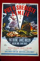 JOURNEY TO THE CENTRE OF EARTH JULES VERNE 1959 MASON BOONE RARE YU MOVIE POSTER