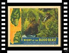 NIGHT OF THE BLOOD BEAST '58 ORIGINAL LOBBY CARD # 7