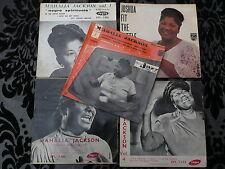 MAHALIA JACKSON : LOT DE 5 EP ( ANNEES 50 & 60 )
