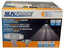 Sunforce Solare 150 LED movimento sensore sicurezza luce/per ambienti & pannello solare