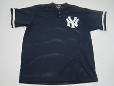Mens XL New York Yankees Majestic Diamond Collection mesh pullover jersey VTG