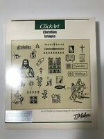 VINTAGE ClickArt Software CLIPART Christian Images T/Maker GEM Ventura Publisher