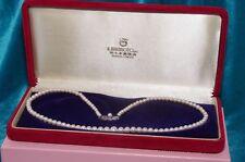 MIKIMOTO necklace akoya pearl 3.6-7.2 mm