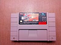 Super Nintendo SNES Cart Only Tested Mutant Chronicles Doom Troopers Ships Fast