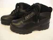 Mens Workabouts Black Steel Toe Work Boots with Cordura Fabric (Size 8D)