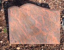 Grabstein, Liegeplatte, der Preis ist mit vertiefter Inschrift 45x 35 x 4 cm