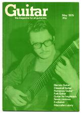 GUITAR MAGAZINE Vol 3 No 10 May 1975 Mario Maccaferri Marcel Dadi