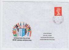 Bosnia Herzegovina 1999 SFOR Field Post Office 572 LIPA British Military Cover