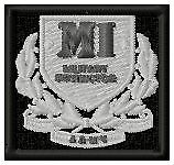 MILITARY INSTRUCTOR BADGE - EMBROIDERED BIKER PATCH