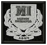 MILITARY INSTRUCTOR BADGE - EMBROIDERED MILITARY BIKER PATCH