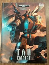 Warhammer 40K Tau Empire Codex Hardcover NEW!