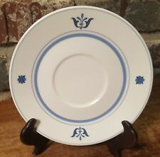 Noritake Progression BLUE HAVEN Saucer(s), 6 available, Very good