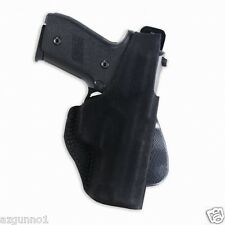 Galco Paddle Lite Holster for Kahr 9mm/.40 Right H. Black, Part # PDL290B
