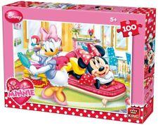 KING puzzle 100 pièces DISNEY Minnie et Daisy - 5+ NEUF