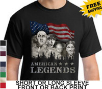 Three Stooges Funny American Legends Larry Curly Moe Knuckleheads Men's T-Shirt