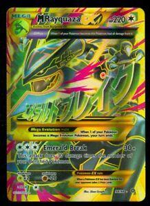 Pokemon M RAYQUAZA EX 98/98 - XY Ancient Origins - ULTRA RARE FULL ART - MINT