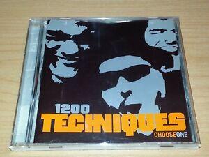 1200 TECHNIQUES CHOOSE ONE CD 2002 VGC OZ HIP HOP RAP.
