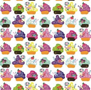 Cupcakes Wrapping Paper,Stunning Sheet Of Wrapping Paper