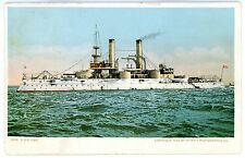 Military/Navy Ship -U.S.S. IOWA- Detroit Publishing Co Postcard USS