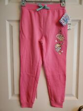 NWT GIRL'S - SIZE 7/8 - MY LITTLE PONY PINK SWEATPANTS - 2 POCKETS