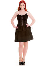 Hell Bunny Spin Doctor Azrael Gothic Punk Steampunk Dress Size XS - XL