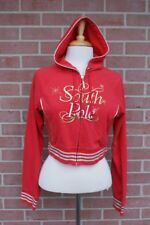 South Pole Girl's Red Jacket Hoodie Size Large