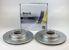BMW 3 Series E46 High Quality 286mm Front Breck Brake Discs