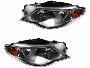 For 2009-2012 Volkswagen CC Headlight Assembly Set 26525CP 2010 2011