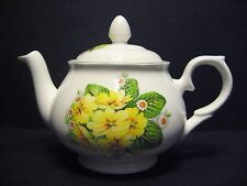 Primrose 2 Cup English Fine Bone China Tea Pot By Milton China