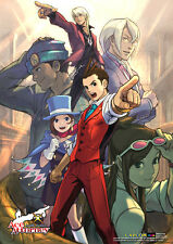 Ace Attorney Wall Scroll Poster Officially Licensed CWS-27120 New