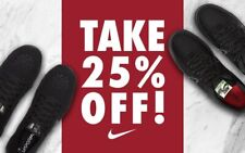 25% OFF DISCOUNT CODE FOR NIKE.COM | EU/UK | €500 SHOPCREDIT | FREE SHIPPING