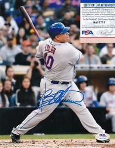 BARTOLO COLON  NEW YORK METS  PSA AUTHENTICATED HOME RUN  ACTION SIGNED 8x10