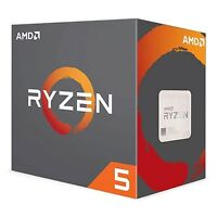NEW! Amd Ryzen 5 1600X 3.6Ghz Six Core Am4 Socket Overclockable Processor