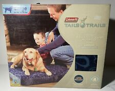 Coleman Tails N Trails Large Rectangulaur Dog Airbed Pet Camping Large Breeds