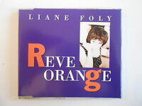 LIANE FOLY : REVE ORANGE + LES FEUILLES MORTES (remix) [ CD-MAXI PORT GRATUIT ]