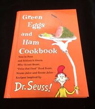 Book Dr. Seus Green Eggs and Ham Cookbook First Edition Hardcover