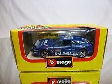 BBURAGO 4117 FERRARI 308 GTB - No 32 SABA  - BLUE 1:43 - GOOD IN BOX
