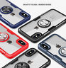 360° Rotating Magnetic Clear Ring Case For iPhone 11 Pro XS MAX XR X  8 7 Plus 6