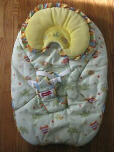 FISHER PRICE BOUNCER REPLACEMENT SEAT COVER -- M5599 HOPPY DAYS BABY BOUNCER