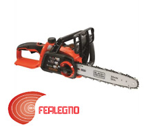ELETTROSEGA MOTOSEGA A BATTERIA LITIO 36V BARRA 30CM BLACK&DECKER ART.46466