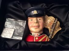 Royal Doulton Character Jug D7217 North Staffordshire Fife Player Ex Con Boxed