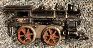 RARE Prewar Ives O Gauge Sixth Series No 3 Cast Iron Clockwork Windup Works!