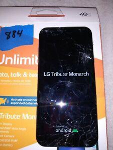 LG tribute monarch boost mobile LM-K300TM