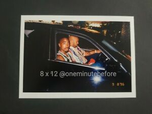 Authenic Limited Edition The Last Picture Of Tupac Shakur.